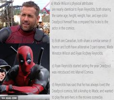 He's born to be Deadpool! Here's why. - 9GAG