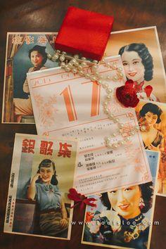 Wedding Idea : Vintage wedding, 1920 old Shanghai | louisloo.com