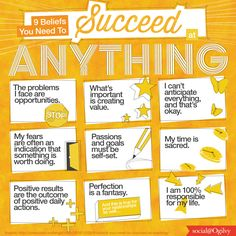 9 Beliefs You Need to Succeed At Anything (Source: Marc and Angel)