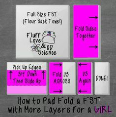 FST Pad Fold for Girls