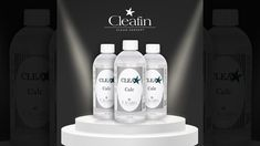 Cleafin CLEA*R Calc - Before & After Vodka Bottle, Cleaning, Drinks, Videos, Coffee Making Machine, Drinking, Beverages, Drink, Home Cleaning
