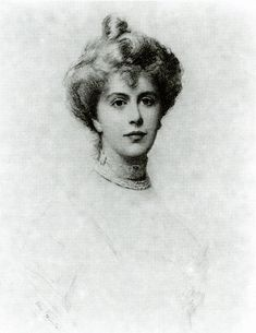 Alice Keppel, mistress to Edward VII and great grandmother of Camilla Parker-Bowles (Alice certainly looks much better than Camilla)