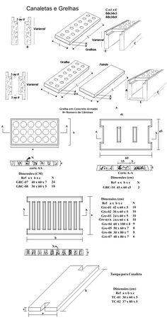 Resultado de imagem para canaleta de concreto dimenses fk grelhas canaletas em concreto armado caixa para ara condicionado ccuart Gallery
