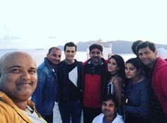 """Shivin with yrkkh team  they both are looking stunning together..  Shivin are twinning …"""""""