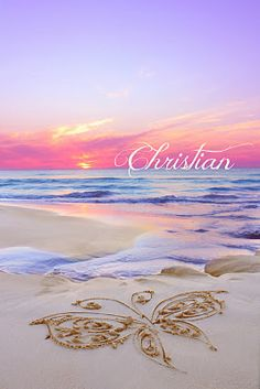 For Sheila & her family:  At the end of the day all of the children of heaven come together to paint the colors of the sunset - Carly Marie Dudley/Christian's Beach