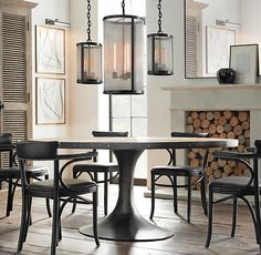 RH's Round & Oval Table Collections:At Restoration Hardware, you'll explore an exceptional world of high quality unique dining room furniture. Browse our selection of dining room furniture sets & more at Restoration Hardware. Oval Table, Round Dining Table, Round Tables, Dining Set, Outdoor Dining, Dining Chair, Sitting Room Lights, Vienna Cafe, Tulip Table