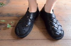 Trippen woven sandals