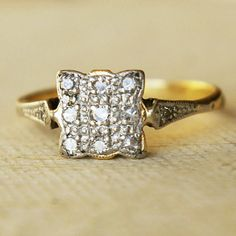 right hand ring. Gorgeous. delicate. vintage.
