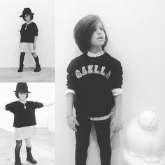 Carattere, determinazione e grinta. Alcuni tratti distintivi Gaëlle Paris Kids.