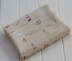 Chiffon de tissu de toile de coton-tissu bricolage par JolinTsai