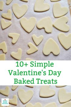 A delicious collection of easy Valentine's Day baked treats to share with your Valentine - cookies, cakes and more. Valentine Bingo, Valentines Baking, Valentines Day Cakes, Valentines Day Funny, Valentine Activities, Valentine Cookies, Valentines Day Decorations, Valentine Day Crafts, Valentine Recipes