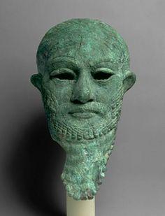 SUMER - Sumerian bronze head