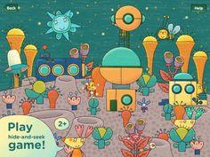 Peekaboo Universe PopAppFactory 숨은 외계인 찾기