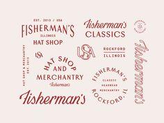 Fisherman's Hat Shop by Mark van Leeuwen #Design Popular #Dribbble #shots
