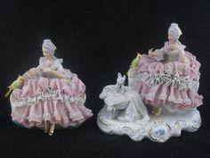 porcelain dresden romantic couple figurines - Google Search