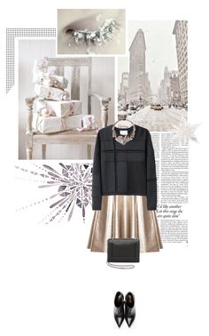 """""""metalic winter."""" by eve-angermayer ❤ liked on Polyvore featuring Victoria Beckham, Jag, MSGM, 3.1 Phillip Lim, Yves Saint Laurent, Jenny Packham, Winter, shine, metalic and eveangermayer"""