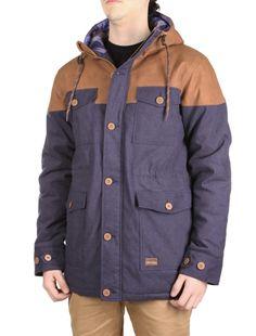 Dock36 Winter Parka [navy] // IRIEDAILY Jackets Men // FALL/WINTER 2014: http://www.iriedaily.de/men-id/men-jackets/ #iriedaily