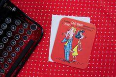 Vintage Valentine's Day Card by lalovelyvintage on Etsy, $6.00