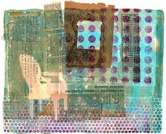 Printing with Gelli Arts®: Something Borrowed