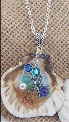 Beyond the Sea - Jewelry creation by K. Lynn Designs