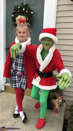 27 Best Cindy Lou Costume Images Christmas Clothes Christmas