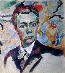 Robert Delaunay, zelfportret