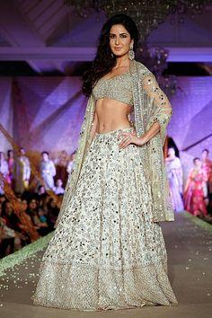 Katrina Kaif walks the runway at Regal Threads Fashion Show By Manish...