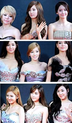 """Absolutely Gorgeous - SNSD @ Red Carpet MAMA2011 in Singapore"" Girls' Generation / SNSD"
