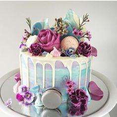 Macaron Cake, Birthday Cake, Cake, Ice Cream Birthday Cake, Pastel Birthday … – Famous Last Words Girly Birthday Cakes, Ice Cream Birthday Cake, 18th Birthday Cake, Beautiful Birthday Cakes, Birthday Cakes For Women, Beautiful Cakes, Amazing Cakes, Birthday Ideas, Happy Birthday