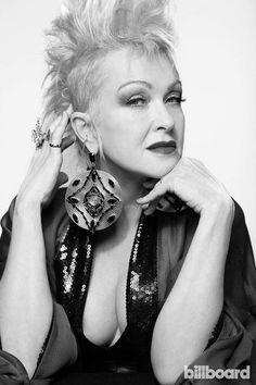Cindy Lauper 80s, Cyndi Lauper, 80s Pop Music, Good Music, Mohawk Hairstyles, Latest Music, Hair Makeup, Hair Cuts, Photoshoot