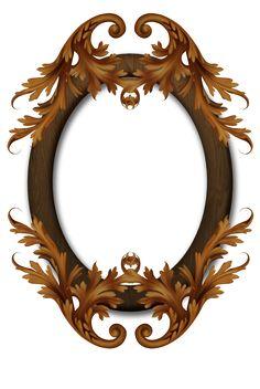 Autumn Frame by collect-and-creat: Cigar Box Crafts, 3d Interior Design, Baroque Design, Cute Frames, Christmas Frames, Antique Frames, Frame Clipart, Borders And Frames, Vintage Scrapbook