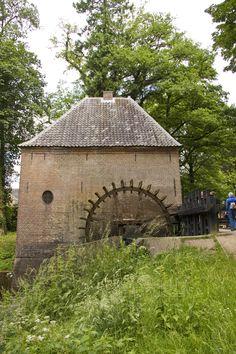 Watermolen kasteel Hackfort in Vorden gemaakt door Marieke Rouwenhorst