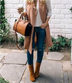 How to wear long vests – Just Trendy Girls