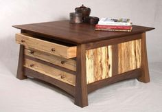 Custom Made Map Chest by Hardwood Artisans | CustomMade.com by AislingH