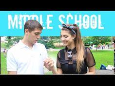 Middle School Vs. High School RELATIONSHIPS! - YouTube