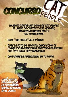 Paul's Pictures: CAT PEOPLE CONTEST!!