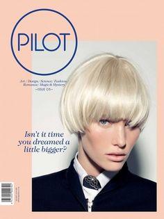 Graphic design/Print/Publication/Packaging / Pilot Magazine — Designspiration