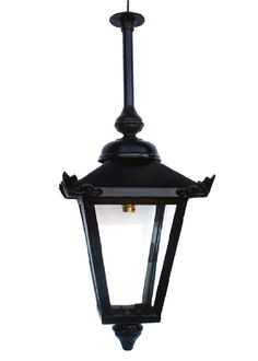 Victorian Porch Pendent Lantern With Rigid Fixing Tube