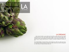La Organic by Andrea Bedendo, via Behance