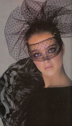 1980's Vogue. Brooke Shields photographed by Avedon.
