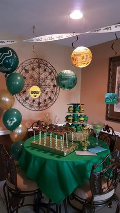 Jamie S Usf Graduation Party Table Dance Decorations Ideas