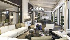 """Дом в """"Медовом"""": архитектура, интерьер, 2 эт   6м, жилье, минимализм, 200 - 300 м2, коттедж, особняк, фасад - стекло, квартира, дом, современный, модернизм, балкон, лоджия, терраса, 50 - 80 м2 #architecture #interiordesign #2fl_6m #housing #minimalism #200_300m2 #cottage #mansion #facade_glass #apartment #house #modern #balcony #loggia #terrace #50_80m2 arXip.com"""