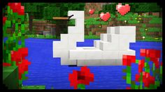 My Boats Plans - ✔ Minecraft: How to make a Swan Boat Master Boat Builder with 31 Years of Experience Finally Releases Archive Of 518 Illustrated, Step-By-Step Boat Plans Minecraft Cottage, Cute Minecraft Houses, Minecraft Plans, Minecraft Room, Minecraft City, Minecraft House Designs, Minecraft Videos, Minecraft Construction, Minecraft Tutorial