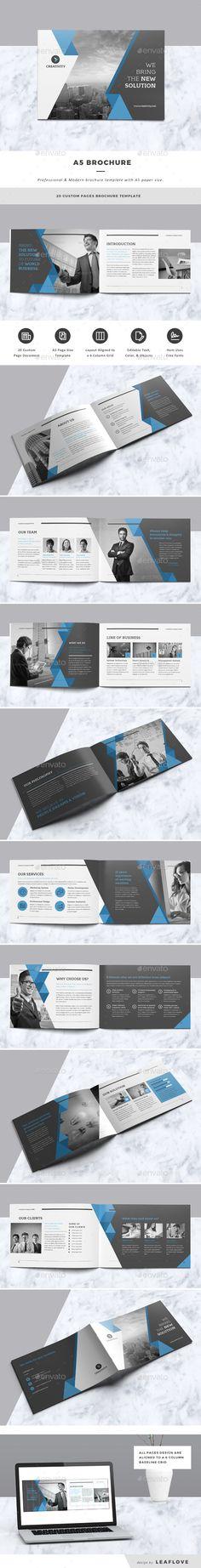 Brand Manual Brand manual, Corporate brochure and Brochures - product manual template