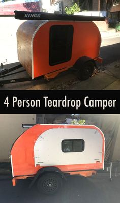 Do you want to camp with four people on a budget? Is it possible to fit a family of four in a small Teardrop Camper?