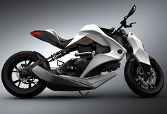 hybrid motorcycle concept.