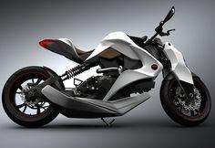 Sweet concept bike!, future motorbike, futuristic motorcycle