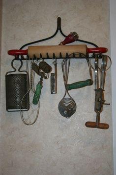 Primitive Crafts | Old Kitchen Gadgets | Primitive Crafts Decor By Pearlie