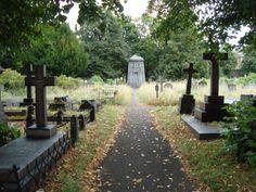 Brompton Cemetery, London, 2012. Picture taken by Jammekke.