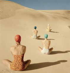 Vogue Vintage - June 1949 - Photographed by Clifford Coffin
